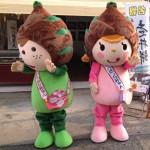 タケちゃん・ノコちゃん駅前店舗前